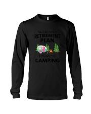 Camping Retirement 2106 Long Sleeve Tee thumbnail