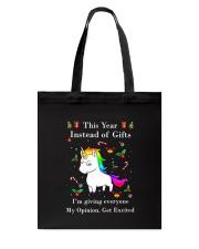 Unicorn Opinion 2610 Tote Bag thumbnail