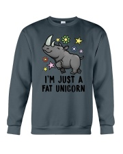 Fat Unicorn Crewneck Sweatshirt thumbnail