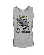 Fat Unicorn Unisex Tank thumbnail