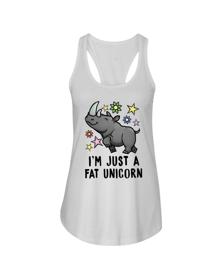 Fat Unicorn Ladies Flowy Tank