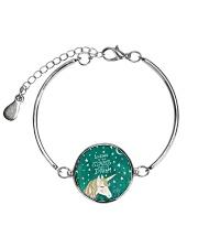 Looking At The Stars  Metallic Circle Bracelet thumbnail