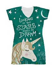 Looking At The Stars  All-over Dress thumbnail