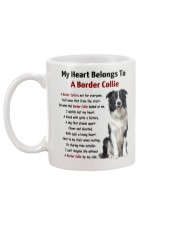 Boder collie - My heart belongs to 1406L Mug back