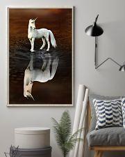 Unicorn Believe 11x17 Poster lifestyle-poster-1