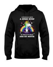 Unicorn I seriously 2808 Hooded Sweatshirt thumbnail