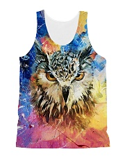 Owl Color 1906 All-over Unisex Tank front