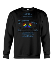 My Hands Love  Crewneck Sweatshirt thumbnail