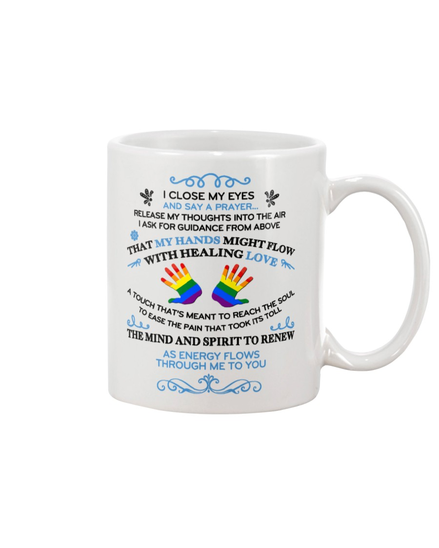 My Hands Love  Mug