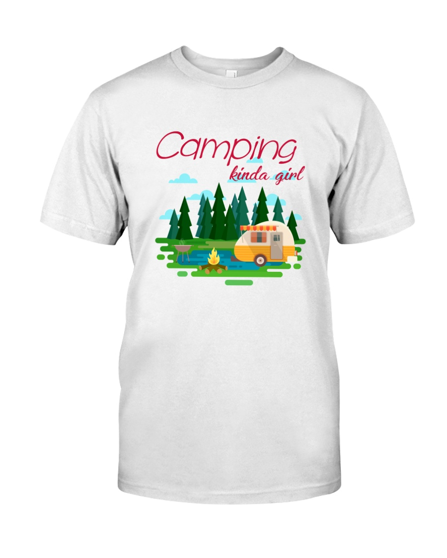 Camping Kinda Girl Classic T-Shirt