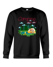 Camping Kinda Girl Crewneck Sweatshirt thumbnail