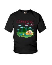 Camping Kinda Girl Youth T-Shirt thumbnail