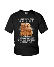 Poodle Signs Youth T-Shirt thumbnail