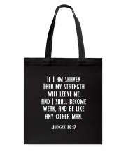 Beard - If I am shaven Tote Bag thumbnail