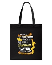Softball Uniform 1806 Tote Bag thumbnail