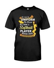 Softball Uniform 1806 Classic T-Shirt front