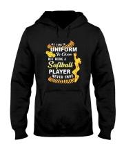 Softball Uniform 1806 Hooded Sweatshirt thumbnail