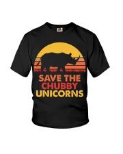 Save the chubby unicorns 140319 Youth T-Shirt thumbnail