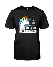 Unicorn and zebra 1209 Classic T-Shirt front
