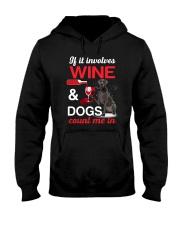 Great Dane Wine Hooded Sweatshirt thumbnail