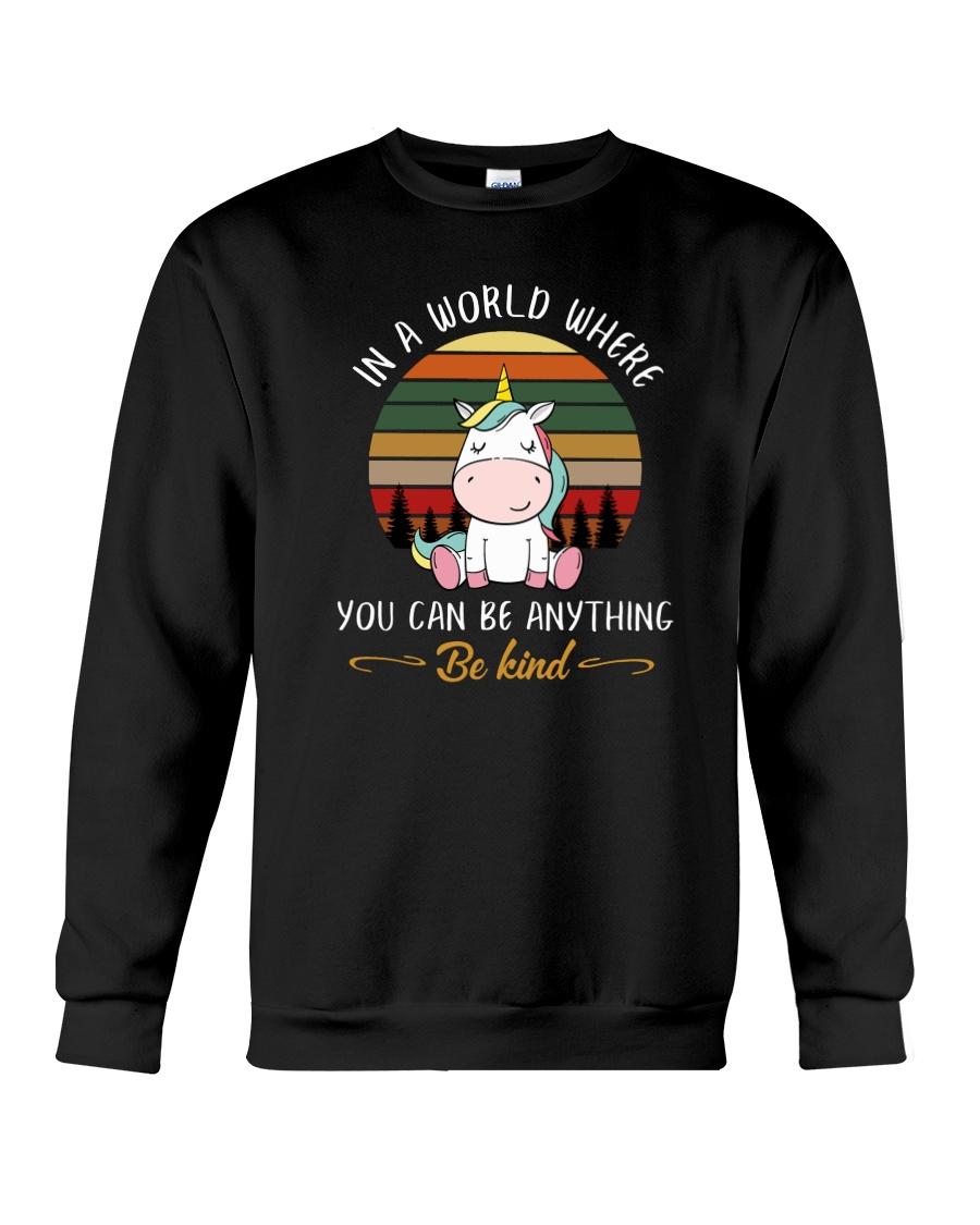 Unicorn Be kind 1510 Crewneck Sweatshirt