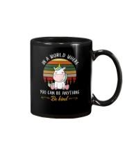 Unicorn Be kind 1510 Mug thumbnail