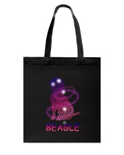 Beagle Paw Tote Bag tile