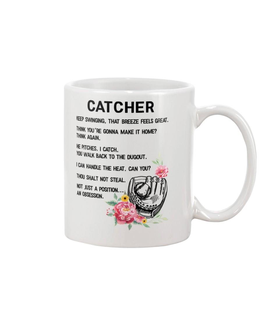 Baseball Catcher 1906 Mug