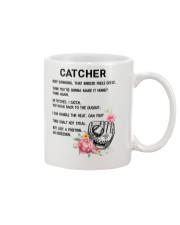 Baseball Catcher 1906 Mug front