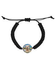 Labrador Retriever Happy  Cord Circle Bracelet thumbnail