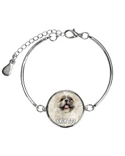 Shih Tzu Cool 1606 Metallic Circle Bracelet thumbnail