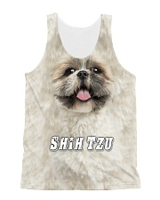 Shih Tzu Cool 1606 All-over Unisex Tank front
