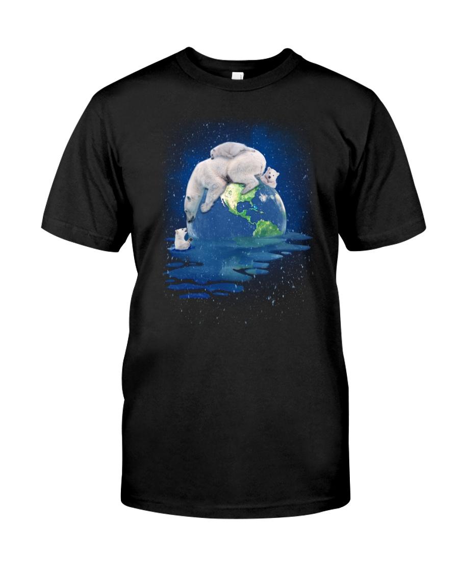 Polar Bear Mom Classic T-Shirt