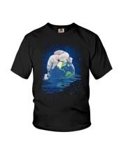 Polar Bear Mom Youth T-Shirt thumbnail