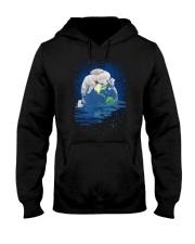 Polar Bear Mom Hooded Sweatshirt thumbnail