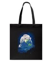Polar Bear Mom Tote Bag thumbnail