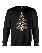 Unicorn christmas tree 2209 Crewneck Sweatshirt front