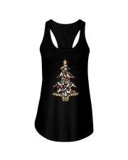 Unicorn christmas tree 2209 Ladies Flowy Tank thumbnail
