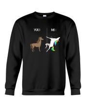 Unicorn you and me 2609 Crewneck Sweatshirt thumbnail