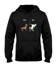 Unicorn you and me 2609 Hooded Sweatshirt thumbnail