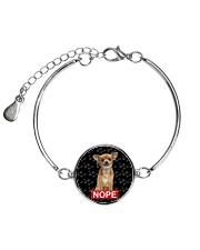 Chihuahua Nope 1606 Metallic Circle Bracelet thumbnail