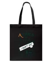 Vegan - Animals are my friends Tote Bag thumbnail