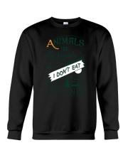 Vegan - Animals are my friends Crewneck Sweatshirt thumbnail