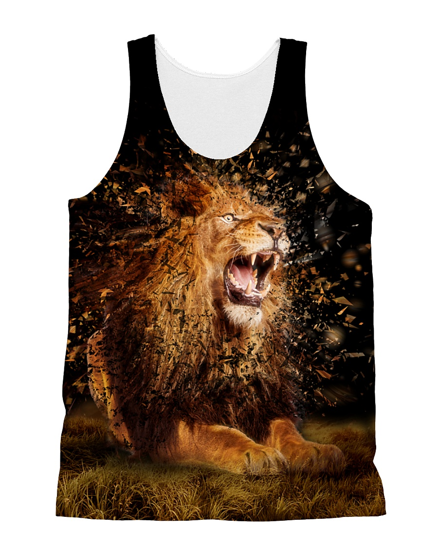 Lion So Cool 1806 All-over Unisex Tank
