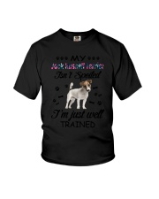My Jack Russell Terrier is not spoiled 2006L Youth T-Shirt thumbnail