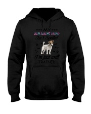 My Jack Russell Terrier is not spoiled 2006L Hooded Sweatshirt thumbnail