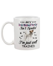 My Jack Russell Terrier is not spoiled 2006L Mug back