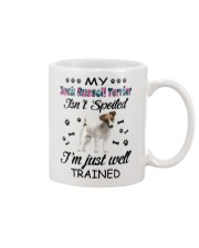 My Jack Russell Terrier is not spoiled 2006L Mug front