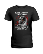 Skull - Who I am Ladies T-Shirt thumbnail