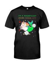 I Am Megnificent Classic T-Shirt front
